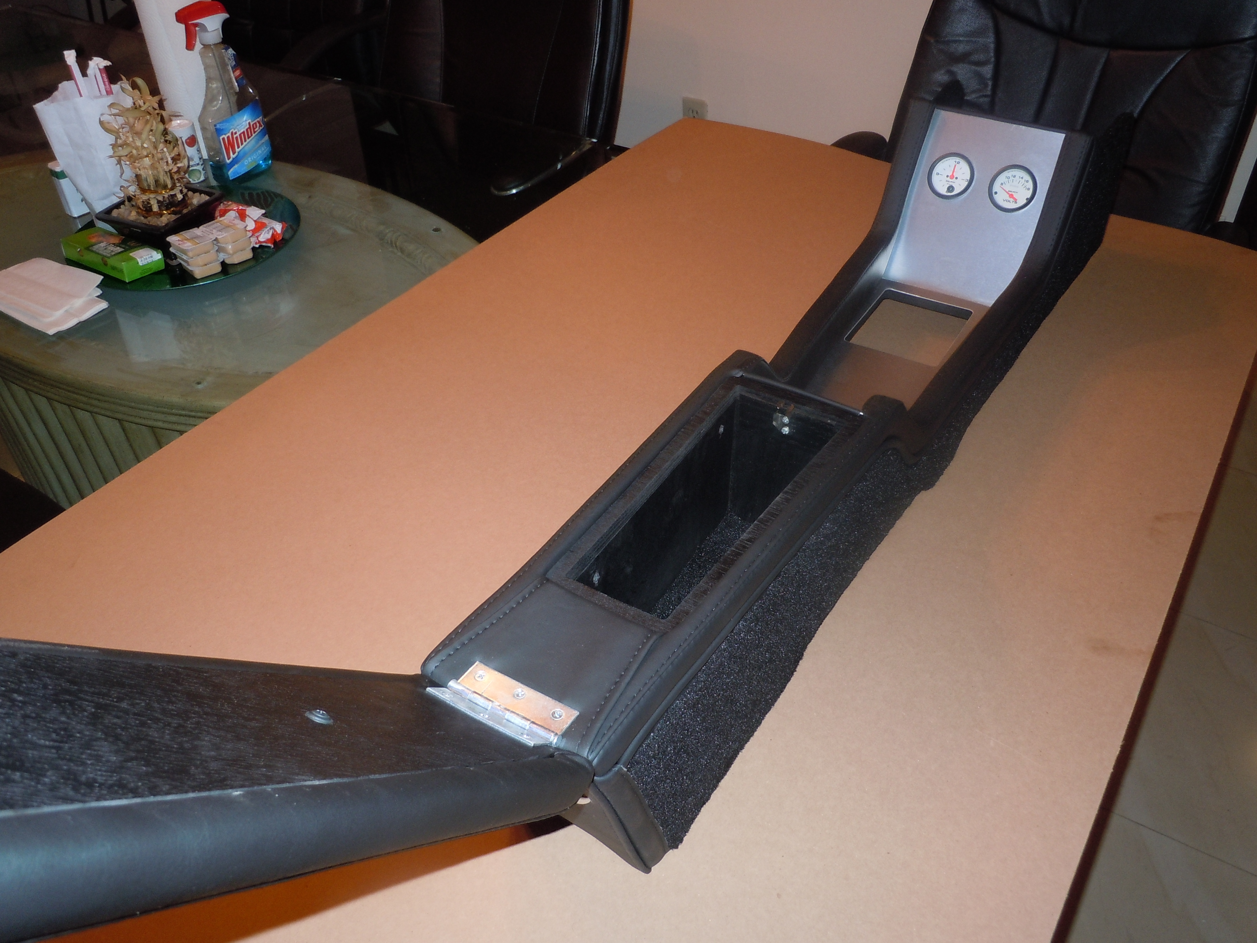 1967 68 Mustang Center Console For Fastback Coupe Manual