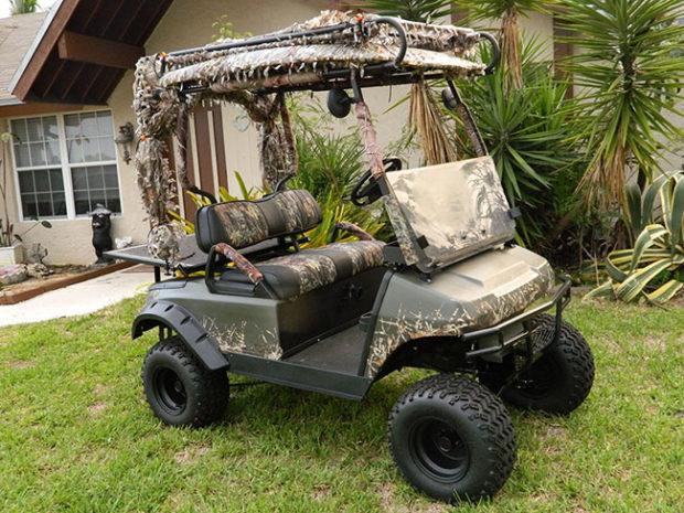 Golf Cart - Camo Golf Carts
