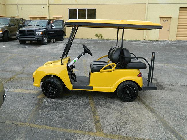 Golf Cart - Yellow Speedster