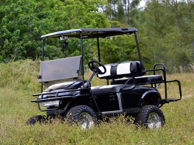 Golf Cart - Black Golg Cart