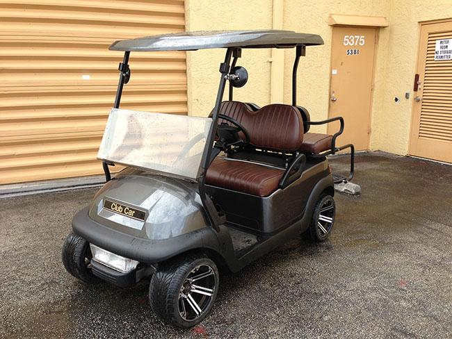 Golf Cart - Grey Golf Cart