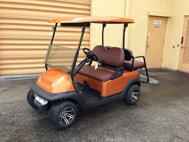 Golf Cart - Mustard Color