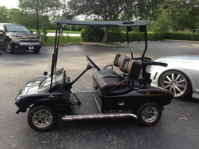 Golf Cart - Old Corvette